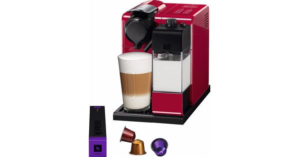 DELONGHI EN550 RED COFFEE MAKER 19 BAR
