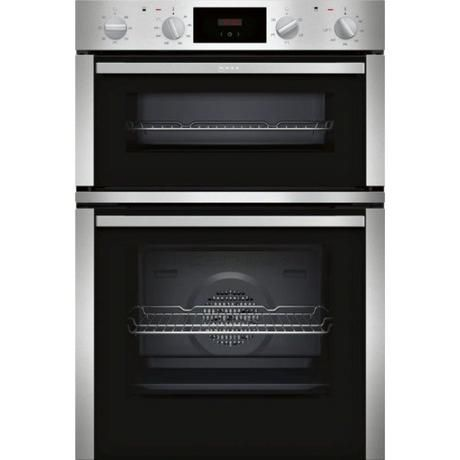 NEFF U1DCC1BNOB DOUBLE OVEN STAINLESS STEEL