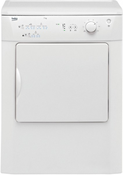 Beko DRVT71W 7KG Tumble Dryer