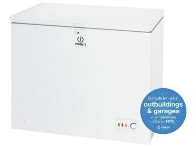 INDESIT OS1A200H2UK 200 LITRE CHEST FREEZER
