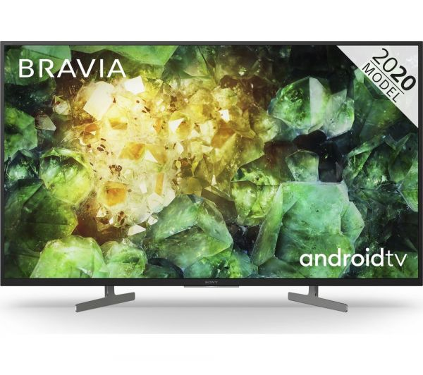 "SONY KD43XH8196BU 43"" 4K HDR ANDROID FREESAT"