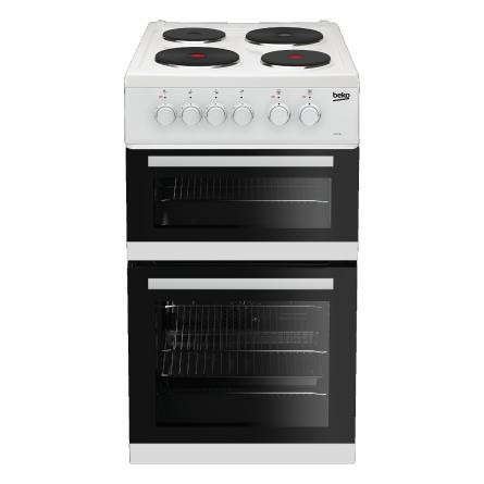 Beko KD533AW 50cm Twin Cavity Cooker
