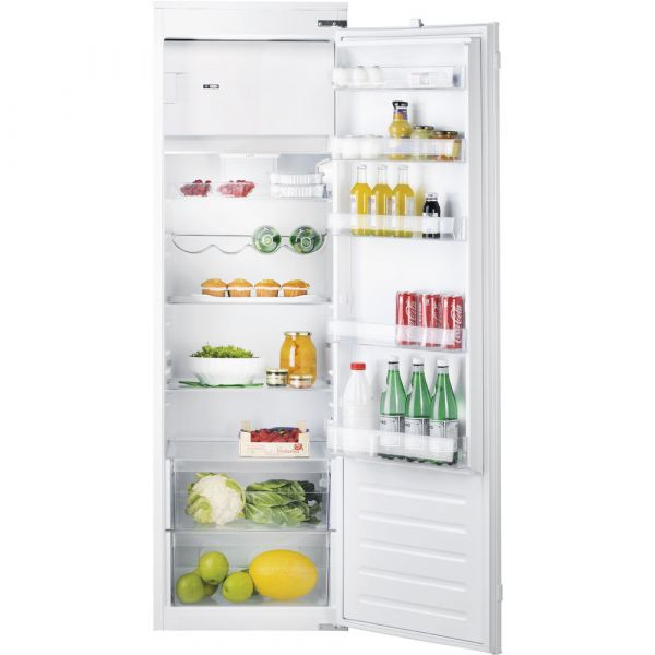 HOTPOINT HSZ1801AAUK INTEGRATED TALL FRIDGE WITH ICE BOX