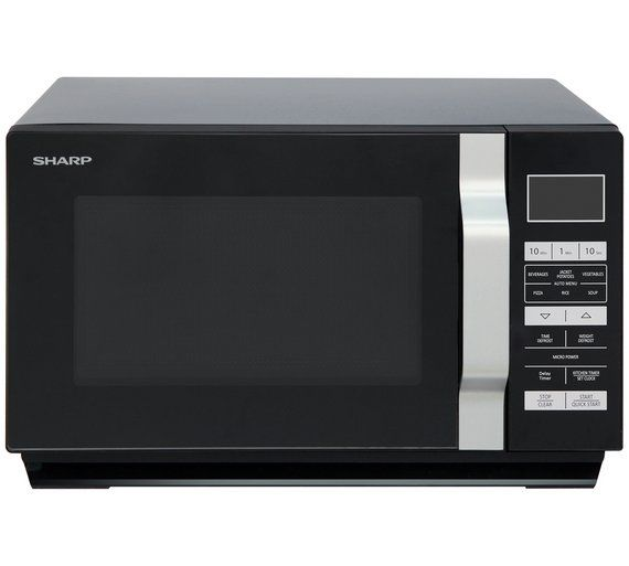 SHARP-R360KM 23 LITRE 900W MICROWAVE BLACK