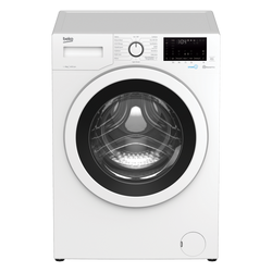BEKO WEC840522W 8KG 1400 SPIN WASING MACHINE STEAMCURE,BLUETOOTH