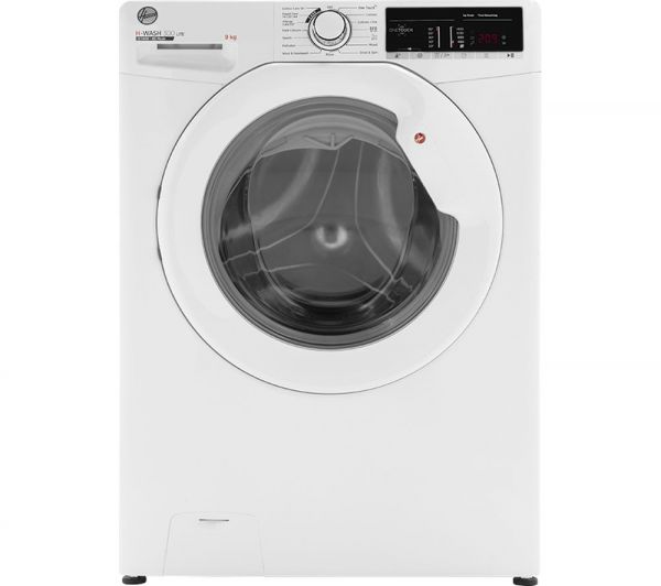 HOOVER H3W49TE 9KG 1400 SPIN A+++ WASHING MACHINE WHITE