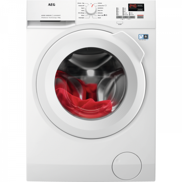 AEG L6FBK841N 8KG 1400 SPIN A+++ WASHING MACHINE