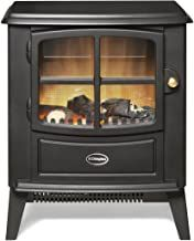 DIMPLEX BFD20R 2KW ELECTRIC STOVE BLACK LOG EFFECT