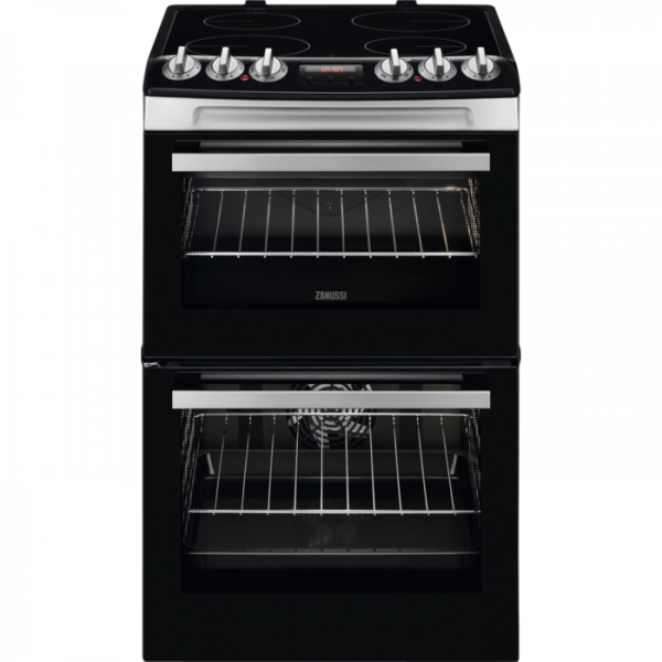ZANUSSI ZCV46250XA 55CM CERAMIC COOKER STAINLESS STEEL