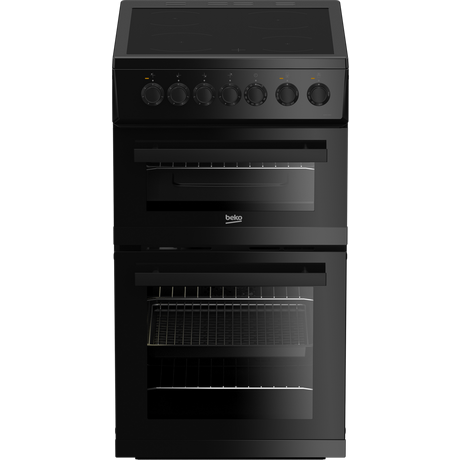 BEKO EDVC503B 50CM CERAMIC DOUBLE OVEN BLACK