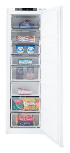 BEKO BFFD1577 TALL BUILT IN FREEZER