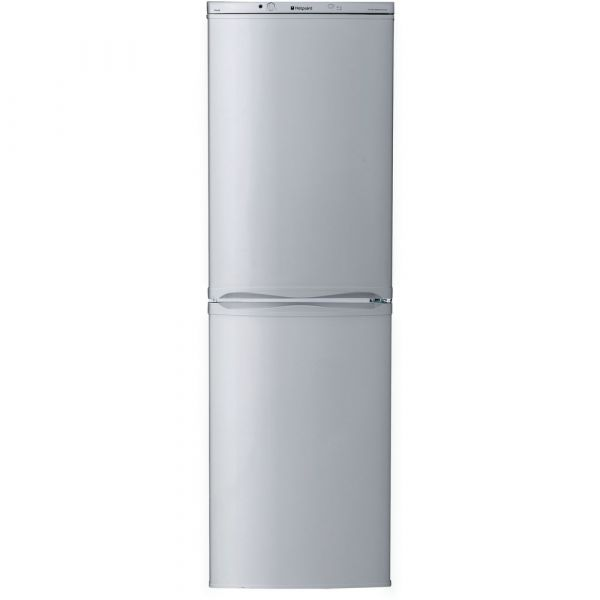 HOTPOINT HBNF5517S 55CM FRIDGE FREEZER FROST FREE SILVER