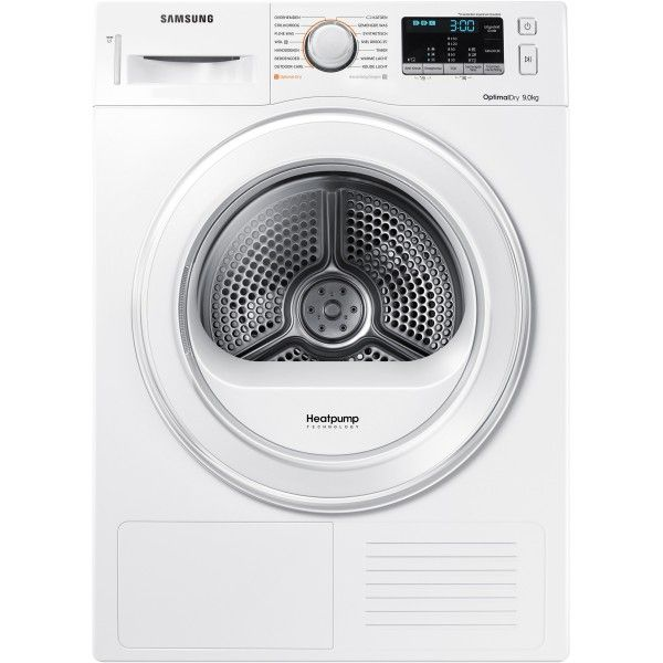 SAMSUNG DV90M50001W 9KG HEAT PUMP CONDENSER DRYER A++