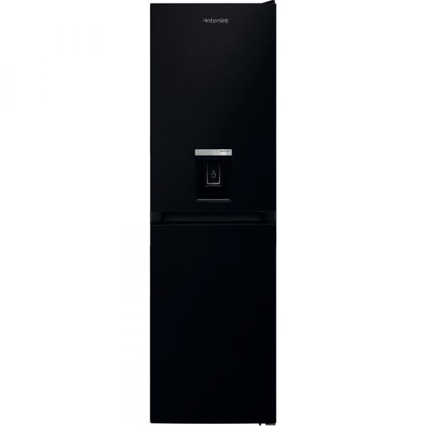 HOTPOINT HBNF55181BAQUA 55CM FRIDGE FREEZER WATER DISPENSER BLACK