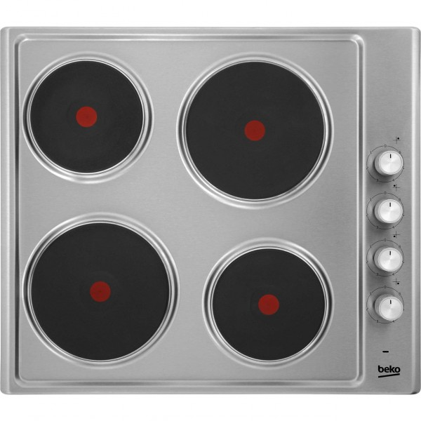 Beko HIZE64101X 60CM Solid Ring Hob
