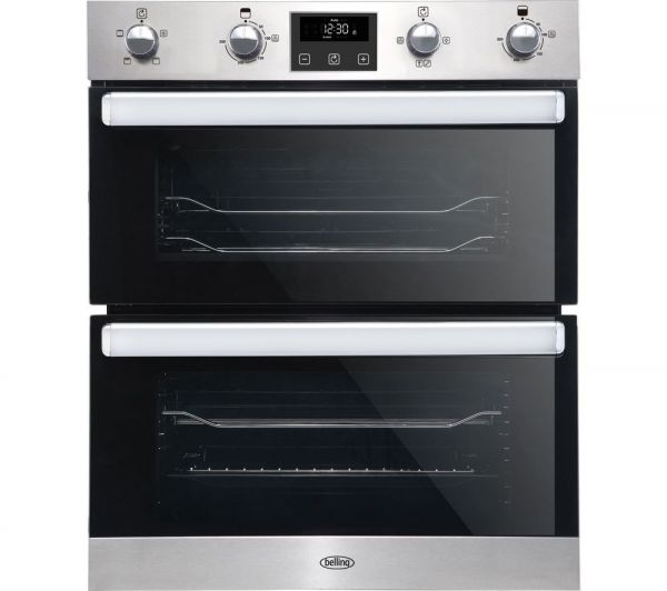 BELLING BI702FPSS BELLING DOUBLE UNDER OVEN STAINLESS STEEL