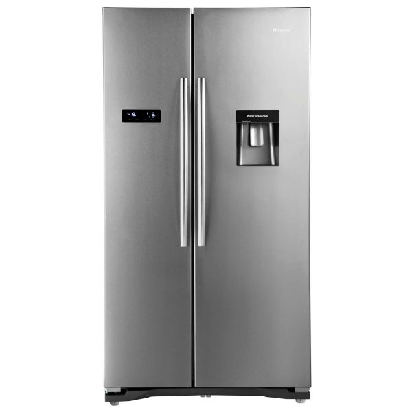 HISENSE RS723N4WC1 AMERICAN STYLE FRIDGE FREEZER STAINLESS EFFECT