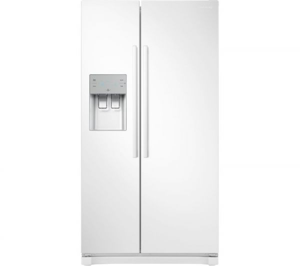 SAMSUNG RS50N3513WW AMERICAN FRIDGE FREEZER ICE/WATER WHITE