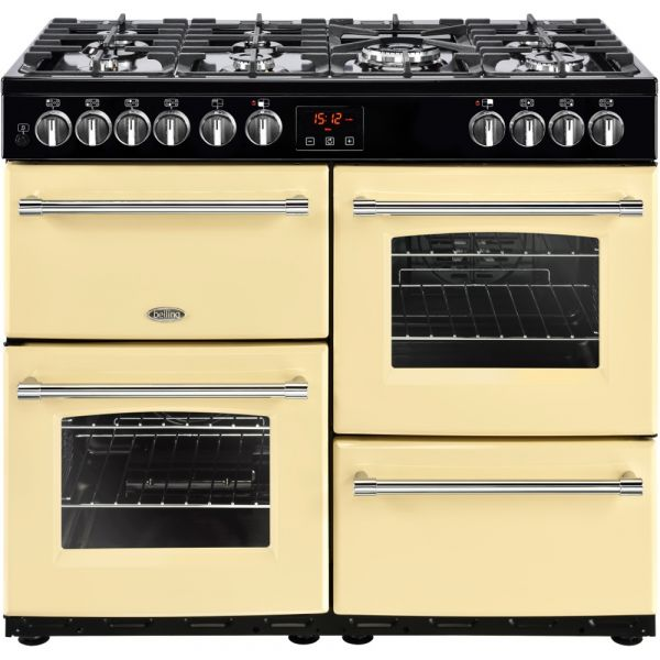 Belling 100DFT 100cm DUAL FUEL RANGE CREAM OR BLACK