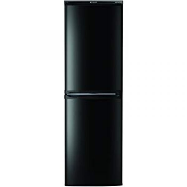 HOTPOINT HBNF5517K 55CM FRIDGE FREEZER FROST FREE BLACK