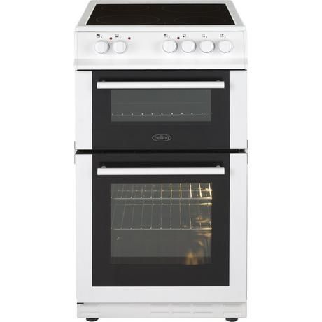 BELLING FS50EDOFCWH 50CM DOUBLE OVEN CERAMIC WHITE