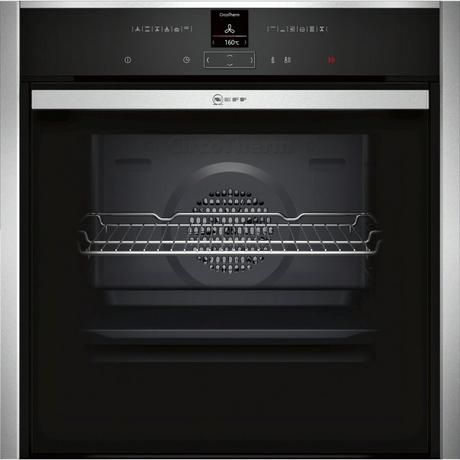 NEFF B57CR23NOB HIDE & SLIDE PYROLYTIC SINGLE OVEN