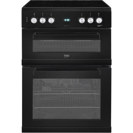 BEKO EDC633K 60CM DOUBLE OVEN CERAMIC BLACK