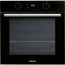 Hotpoint SA2540HBL Single Oven Black