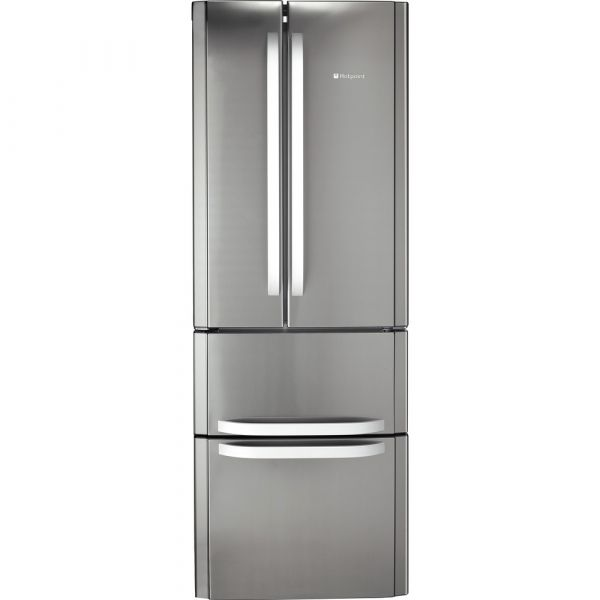 HOTPOINT FFU4DX 4 DOOR 70CM FRIDGE FREEZER INNOX STEEL A+