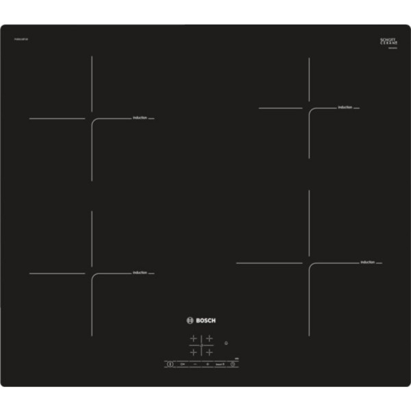 BOSCH PUE611BF1B 4 ZONE INDUCTION HOB