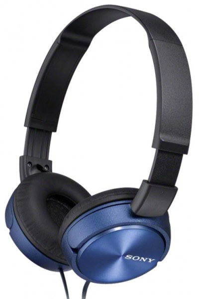 Sony MDR-ZX310L Headphones with lightweight folding design | Blue