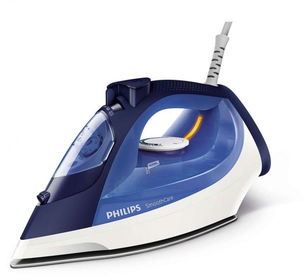 Philips Smooth Care Steam Iron - Blue & White
