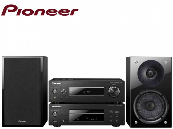 Pioneer XC-SP01K Compact Component HiFi System with CD iPod/iPhone Playback & DAB Radio