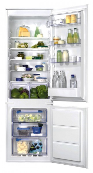 Zanussi ZBB28651SA Built-In Fridge Freezer