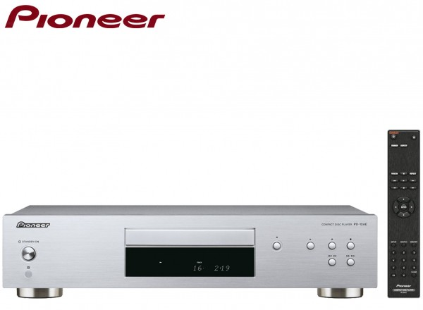 Pioneer PD-10AE Pure audio CD Player with Silent Drive | Silver