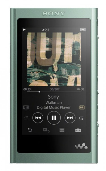 Sony NW-A55L 16GB 'A' Series Walkman®, High-Resolution Audio Compatible MP3 Player | Green