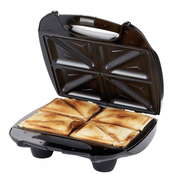 Russell Hobbs 24550 4 Portion Deep-fill Sandwich Toaster | Black/Silver