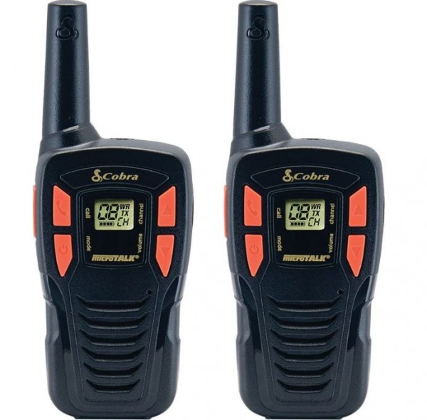 Cobra AM245 Adventure 5Km Range 2-Way PMR Radio | 2-Pack