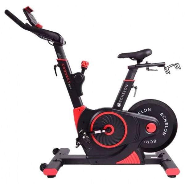 Echelon Smart Connect EX3 MAX Exercise Bike | Red