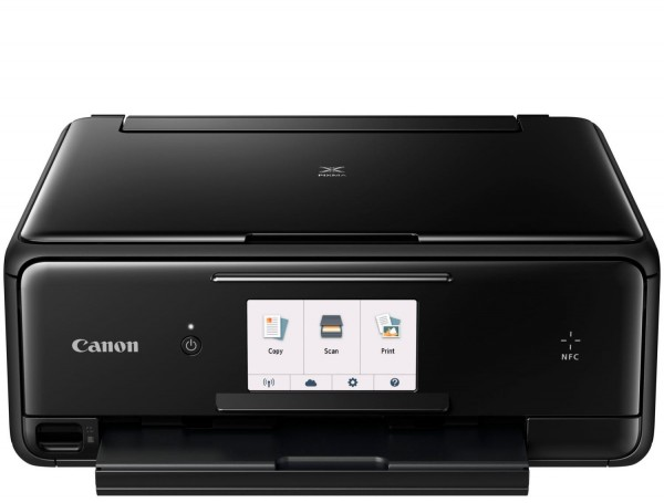 Canon PIXMA TS8050 All-in-One Wireless Wi-Fi Printer with large touchscreen