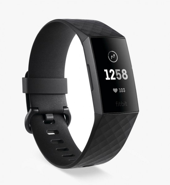 Fitbit Charge 3 Health and Fitness Tracker | Black/Graphite