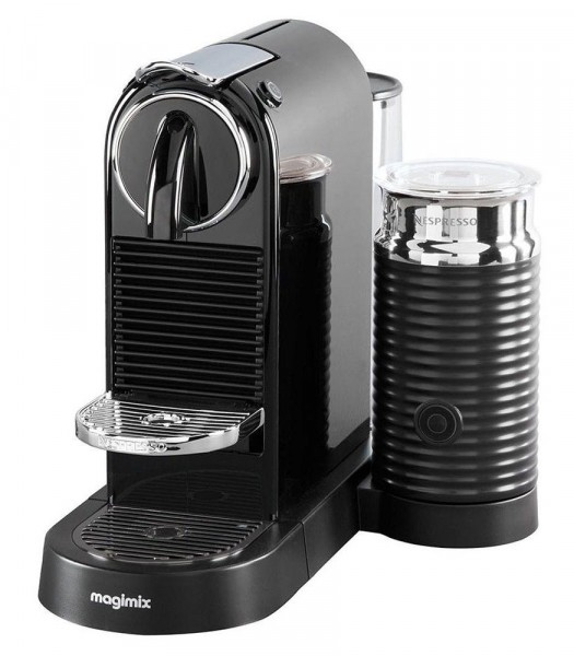Magimix 11317 'Citiz & Milk' Nespresso Coffee Machine with Aeroccino 3 | Black
