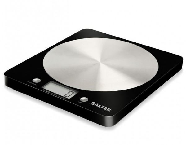 Salter 1036BKSSDR Disc Electronic Digital Kitchen Scales | Black