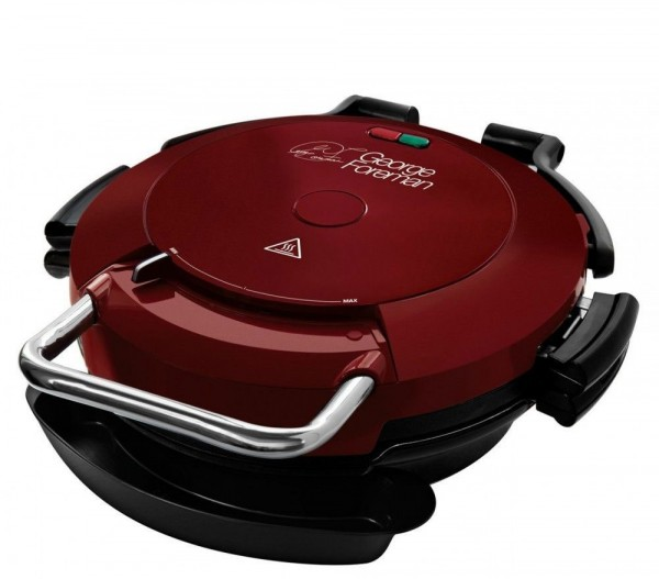 George Foreman 7 Portion Entertaining 360 Pizza Grill