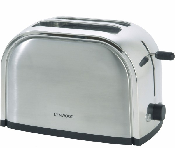 2 Slice Toaster in a Brushed Metal Finish