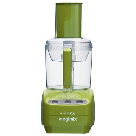 Le Mini Plus Food Processor with BlenderMix in Green