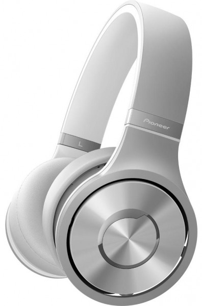 Pioneer SE-MX9S Superior Club Sound Dynamic Stereo Headphones | Silver