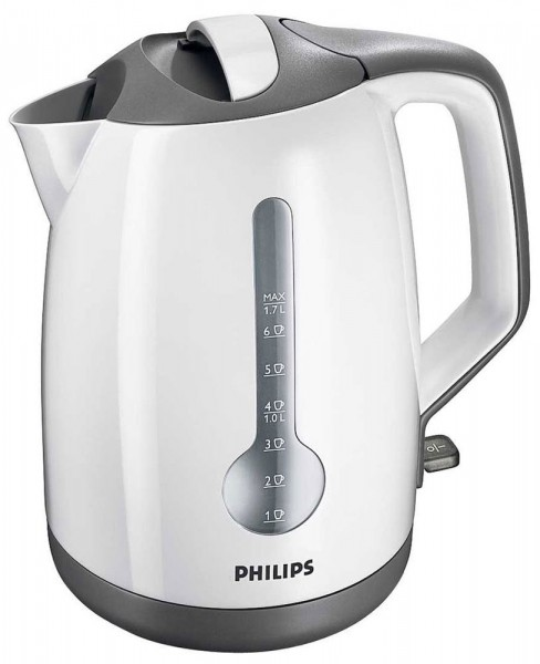 Energy efficient and easy to clean Cordless Kettle in White