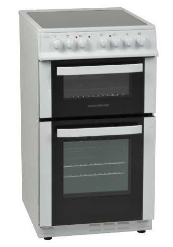 NordMende CTEC51 50cm Wide, Electric Cooker | White
