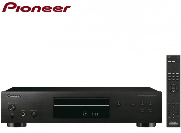 Pioneer PD-30AE Pure audio CD Player with Silent Drive | Black